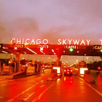 Photo taken at Chicago Skyway by Shane on 11/8/2011
