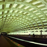 Photo taken at Judiciary Square Metro Station by Tim H. on 1/7/2012