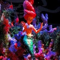 Photo taken at The Little Mermaid ~ Ariel's Undersea Adventure by Sean M. on 8/26/2012