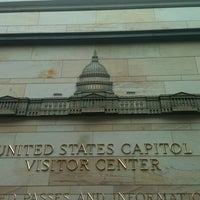 Photo taken at U.S. Capitol Visitor Center by Rachael R. on 10/11/2011