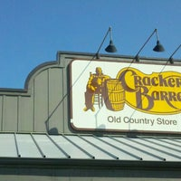 Photo taken at Cracker Barrel Old Country Store by Scott R. on 9/29/2011