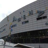 Photo taken at Geneva Arena by Marisa E. on 4/15/2012