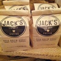 Photo taken at Jack's Stir Brew Coffee by Fred W. on 9/8/2012