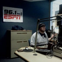 Photo taken at ESPN 96.1 by Brendan M. on 11/4/2011