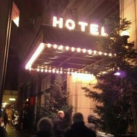 Photo taken at Ace Hotel Lobby Bar by Matt P. on 1/21/2012