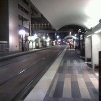 Photo taken at St. Paul Station (DART Rail) by Steven G. on 11/2/2011