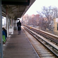 Photo taken at CTA - Bryn Mawr by Adrienne M. on 12/31/2011