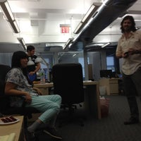 Photo taken at Grooveshark NYC HQ by Mo M. on 9/7/2012