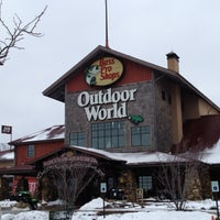 Photo taken at Bass Pro Shops by Jesse R. on 1/16/2012