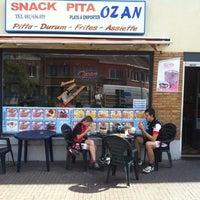 Photo taken at Ozan Pitta by Petr K. on 8/9/2012