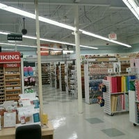 Photo taken at JOANN Fabrics and Crafts by Di V. on 1/7/2012