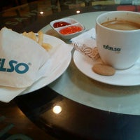 Photo taken at EXCELSO by Afrin D. on 1/22/2012