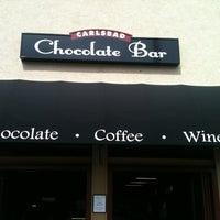 Photo taken at Carlsbad Chocolate Bar by Kelcie B. on 8/17/2012