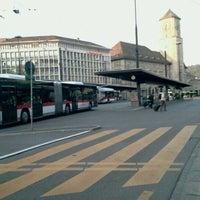 Photo taken at VBSG Busbahnhof St.Gallen by Stefan G. on 5/7/2011