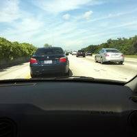 Photo taken at I-95 at Ives Dairy Road by Felix R. on 8/30/2012