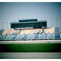 Photo taken at Chicagoland Speedway by Mike P. on 10/30/2011