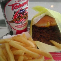 Photo taken at Original Tommy's Hamburgers by Silvia N. on 10/19/2011