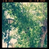 Photo taken at Paço de Arcos Garden by Catarina R. on 5/26/2012