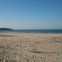 Photo taken at Playa de El Balneario by Juan A. S. on 1/3/2012