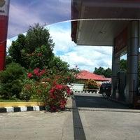 Photo taken at SPBU Pertamina by Nicky S. on 10/25/2011