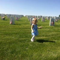 Photo taken at Fort Logan National Cemetery by Rhiannon H. on 5/28/2012