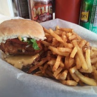 Photo taken at The Burger's Priest by Krissy C. on 5/5/2011