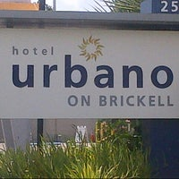 Photo taken at Hotel Urbano at Brickell by Nonglitch on 8/4/2012