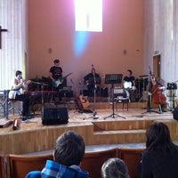 Photo taken at Ogres Trīsvienības Baptistu Draudze by Ritvars R. on 3/31/2012