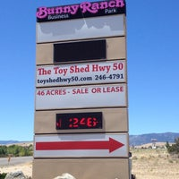 Photo taken at Moonlite Bunny Ranch by B on 6/26/2012