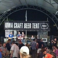 Photo taken at Iowa Craft Beer Tent by Drew V. on 8/14/ ... & Iowa Craft Beer Tent (Now Closed) - Beer Garden in Des Moines IA