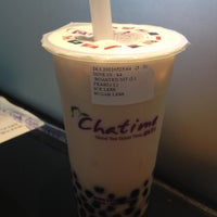 Photo taken at Chatime by ♚ Diana ♚ on 5/25/2012