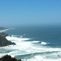 Photo taken at Pacifica State Beach by Michael C. on 6/10/2012