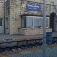 Photo taken at Stazione di Domegliara by Giordano S. on 3/28/2011