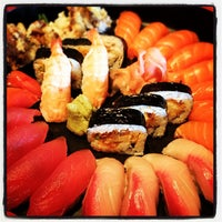 Photo taken at Oishi Sushi by Mike A. on 8/31/2012