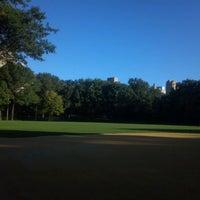 Photo taken at Heckscher Field by Victor W. on 9/18/2011
