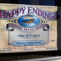 Photo taken at Happy Endings by Jennifer P. on 8/26/2011