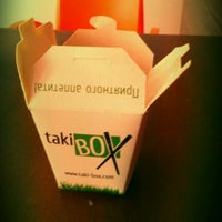 Photo taken at Taki-box Delivery Area by Viktoria X. on 1/17/2012
