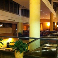 Photo taken at Hilton Atlanta Airport by Justin M. on 1/5/2011