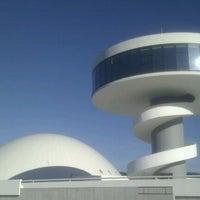 Photo taken at Oscar Niemeyer International Cultural Centre by Mercodes M. on 12/26/2011