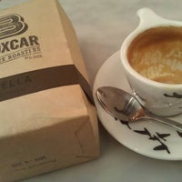 Photo taken at Boxcar Coffee Roasters by Chris M. on 11/12/2011