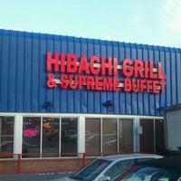 Photo taken at Hibachi Grill & Supreme Buffet by Scot R. on 3/25/2012