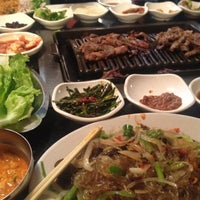 Photo taken at Shilla Korean Barbecue by Danica D. on 8/20/2012