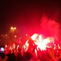 Photo taken at UEFA Meydanı by Necati S. on 5/12/2012