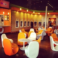 Photo taken at Orange Leaf by makeupbylaa.com on 4/5/2012