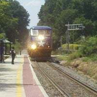 Photo taken at Amtrak - Cary Station (CYN) by Richard B. on 7/29/2012