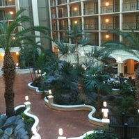 Photo taken at Sheraton Suites Tampa Airport Westshore by Steven F. on 8/15/2011