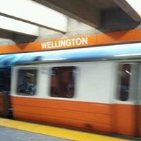 Photo taken at MBTA Wellington Station by JT F. on 9/2/2011