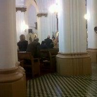 Photo taken at Iglesia San Nicolas by lorena b. on 9/18/2011