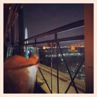 Photo taken at P.O.V. Rooftop Lounge and Terrace by Zach D. on 8/18/2012
