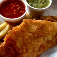 Photo taken at Smiths Authentic British Fish And Chips by Mark D. on 6/11/2012